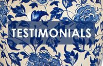 Hear what our customers have to say about La Maison's fantastic products and service