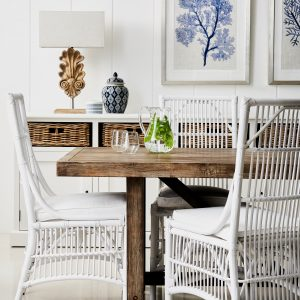 Hampton style chairs and table