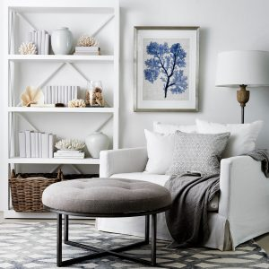 Hampton style chair and table